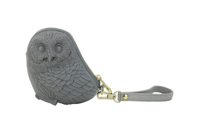 Adamo 3D Bag Original Eileen Owl Clutch Bag