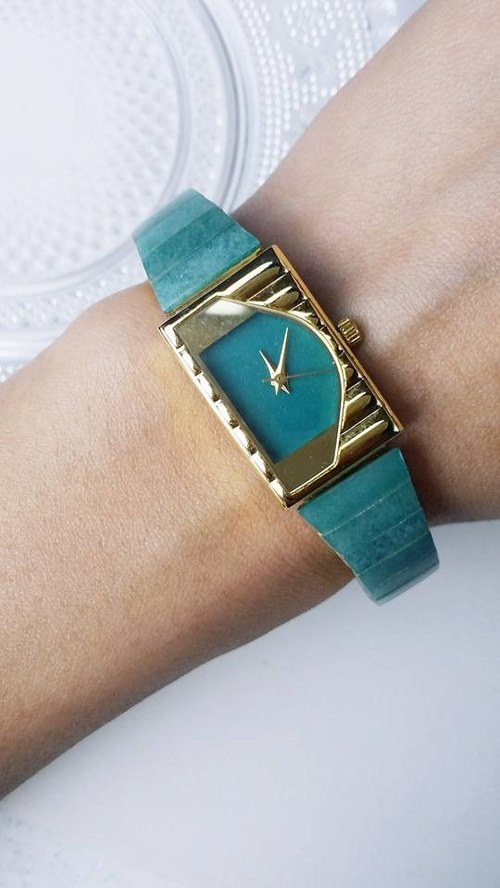 【Lost And Find】Natural jade watch