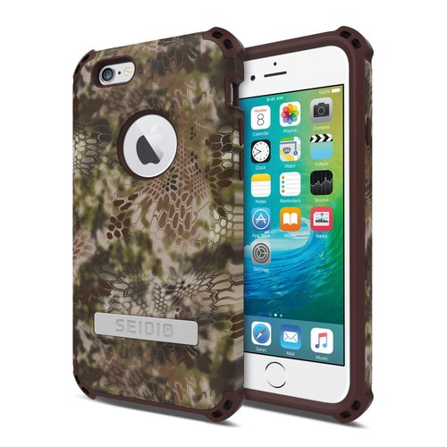 Military Class Quad Corner Crash Case / Case for iPhone 6 Plus / 6s Plus - Wilderness Warrior-DILEX ™ x KRYPTEK Series