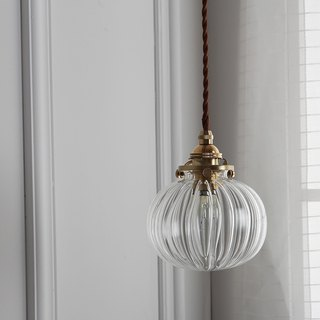 Good Form‧ good shape │ vintage ‧ Japanese style ‧ simple brass glass ‧ chandelier