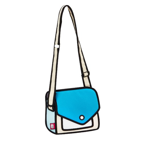 JumpFromPaper Giggle Airy Blue Shoulder Bag