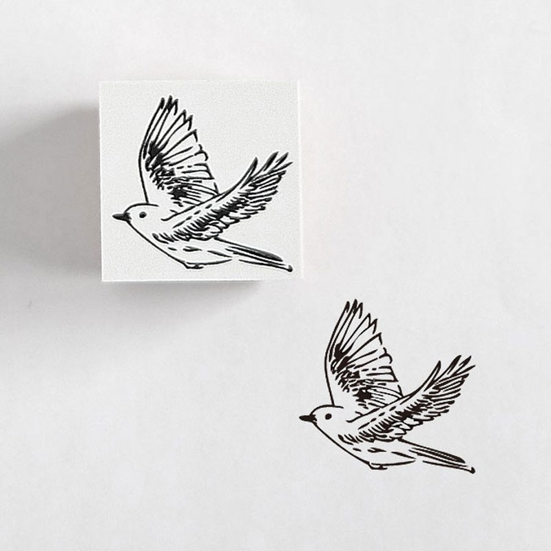 Rubber Stamp Bird