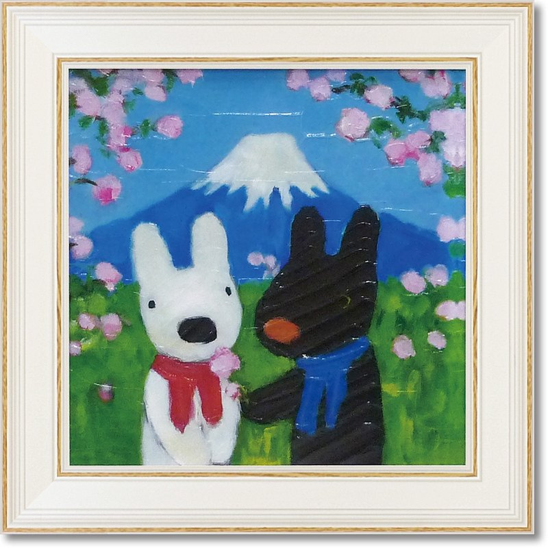 """Lisa and Caspian"" medium-sized box copy painting -AJJapon"