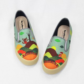 Fairytale casual shoes (Adult) - Little Red Riding Hood and Big Wolf Alishan Tour Women's Shoes