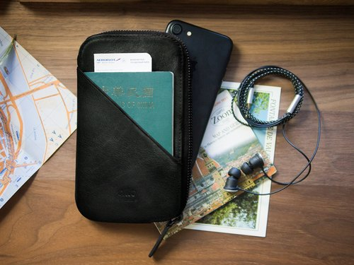 alto Travel Phone Wallet – Raven