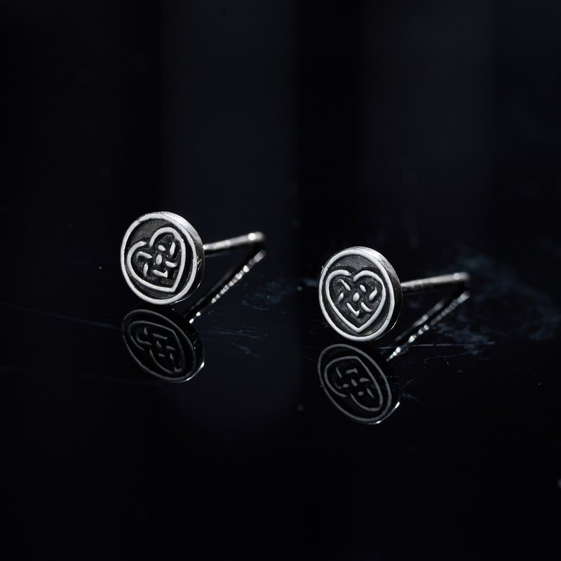 Azoth | Celtic Knot Earrings Love