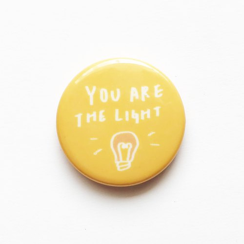 Glittering you | 3.2cm pin badge