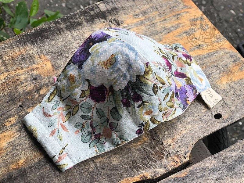 茶花盛開 布口罩/成人款 手工製作