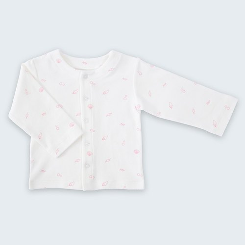 【Deux Filles Organic Cotton】Pink Belly Jacket