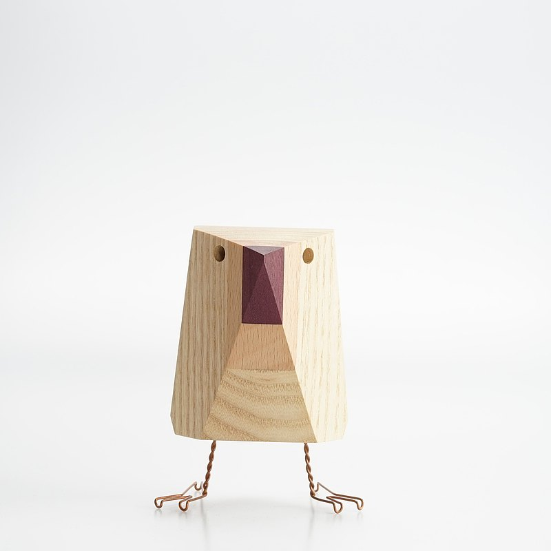 Micro One Design / Wood Bird-Blanca
