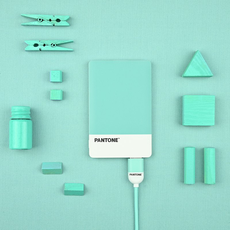 Pantone Portable Power Bank-Mini Portable Charger-Slim Charge-Rapid