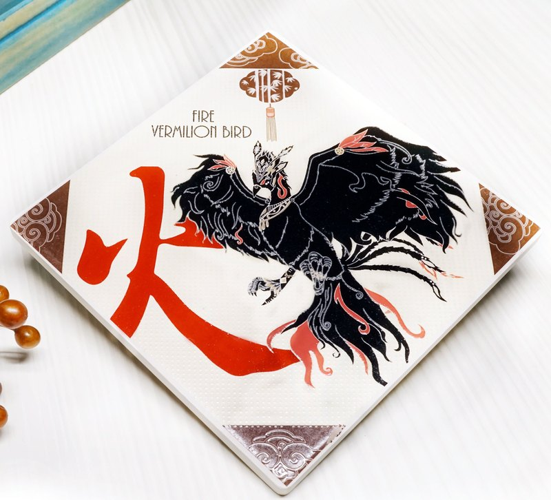 Cr8tive 4ever【Vermilion Bird (Coaster)】