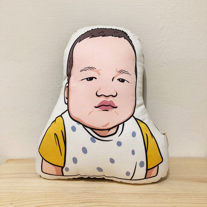 FunPrint 【customized】 Lya Series  illustration Pillow
