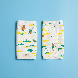Baby 2pk Teething Pads Set / Trekking / Healthy Yellow & Green
