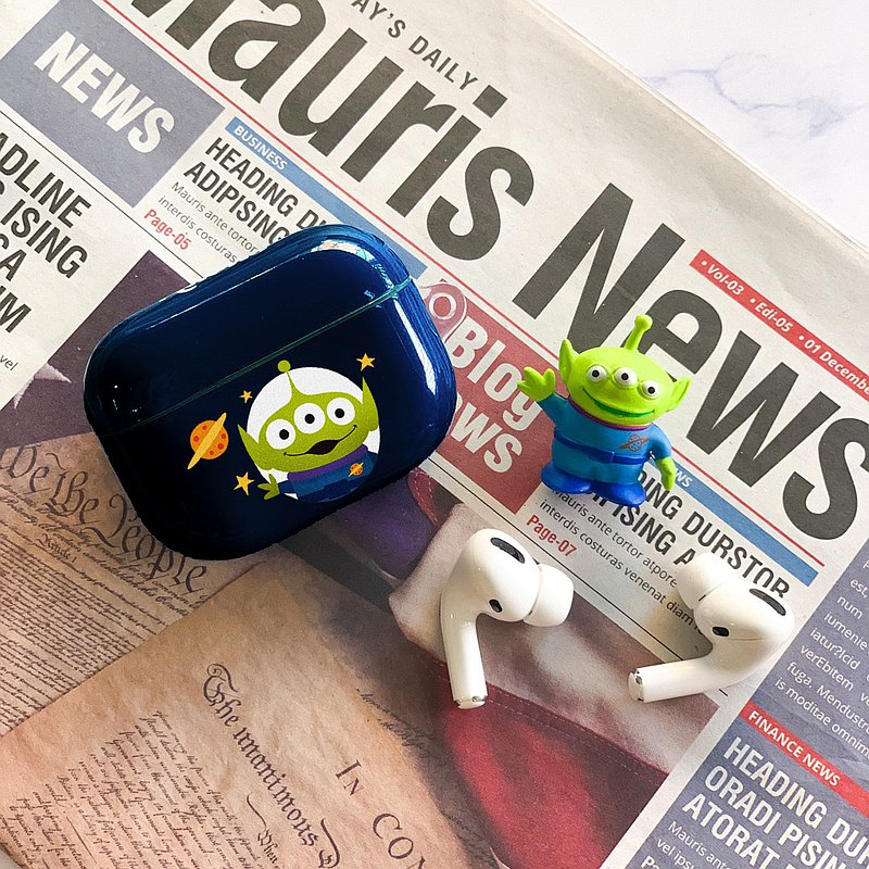 Disney Toy Story Airpods Pro casing Alien Deep Blue