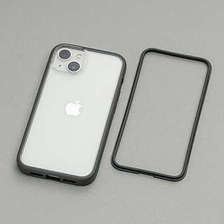 Mod NX frame back cover dual-use shell - mud gray / for iPhone series