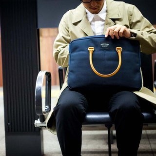 Fashion Lightweight Japanese Multifunctional Waterproof Nylon Briefcase Made in Japan by Wonder Baggage