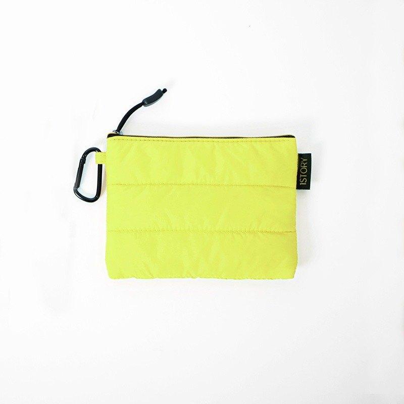 證件護照包.黃╳黑