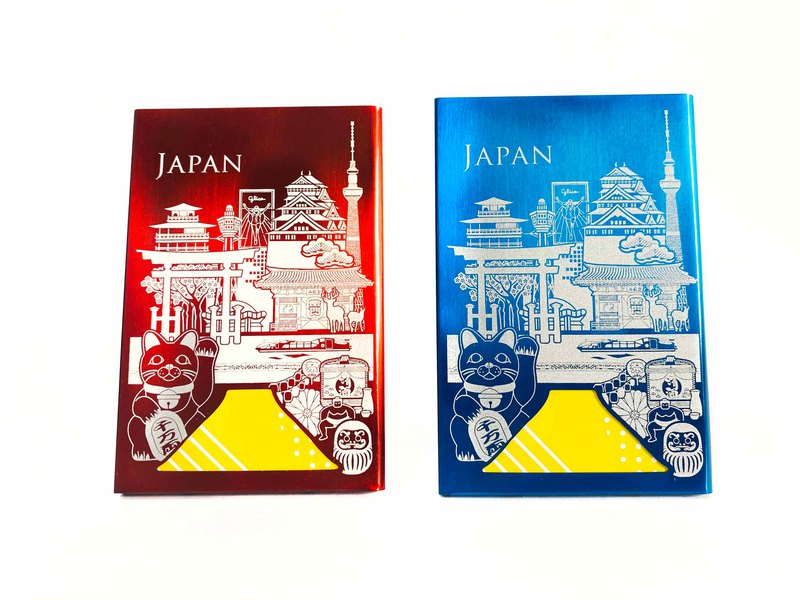 World Bussiness Card Holder_Japan_2 colors  カードケース