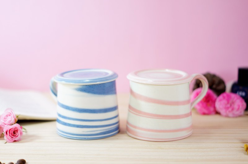 Lover's Pair Cup, Wakayama Yamagata, Tea Cup, Mug, Water Cup, Coffee Cup-about 350ml