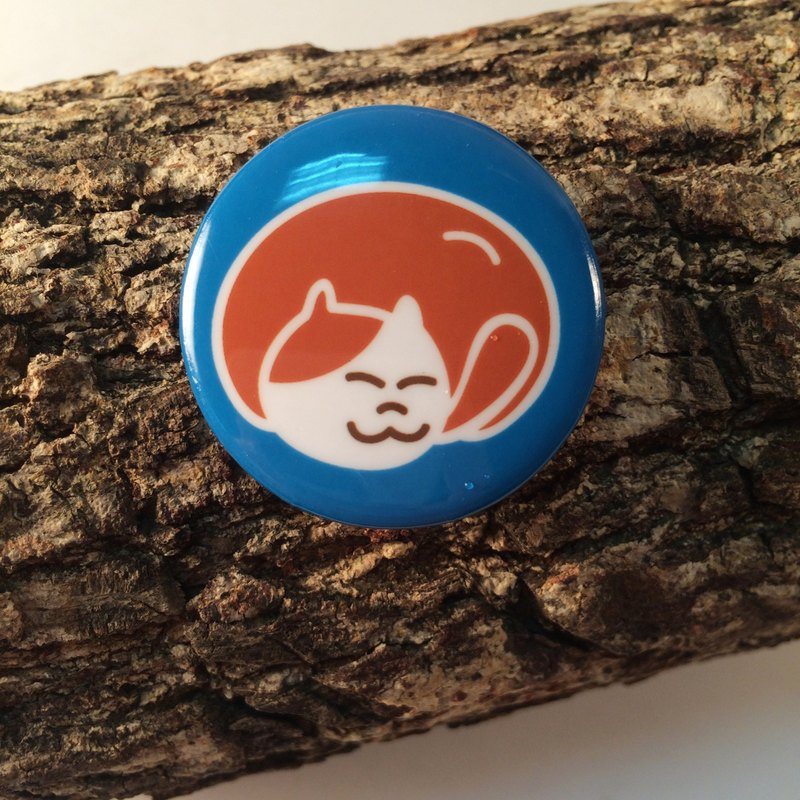 Cat's Daily Tinplate Badge (Small) Cats Tinplace badge