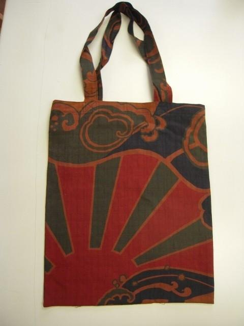 Japanese Pattern tote bag (big catch flag)
