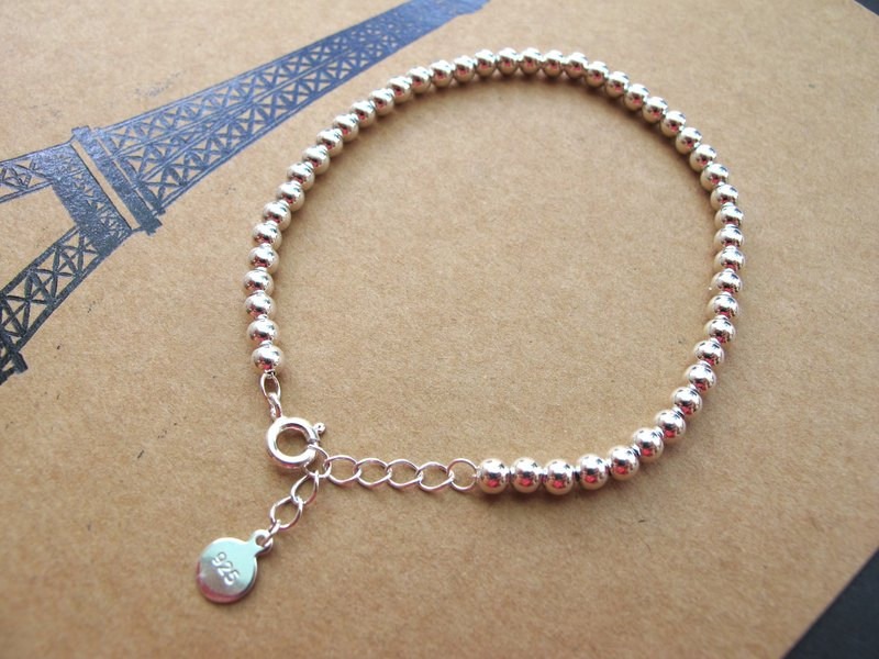 925 Silver [Silver Bracelet]-Natural Stone Series