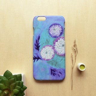 Night flowers. Matte Case( iPhone, HTC, Samsung, Sony, LG, OPPO)