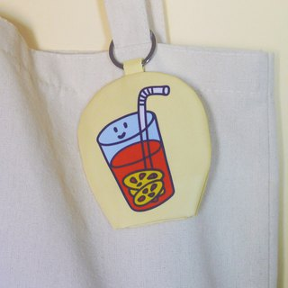 【Cha Chaan Teng Collection】-Keyring glasses cleaning cloth -(GH12)