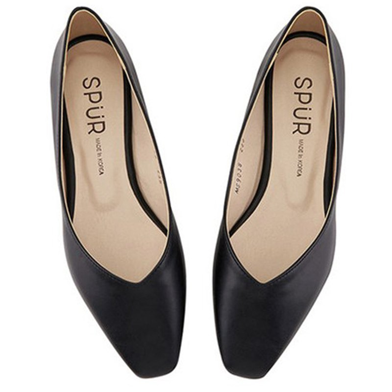 PRE-ORDER – SPUR Slim square flat MS9038 BLACK