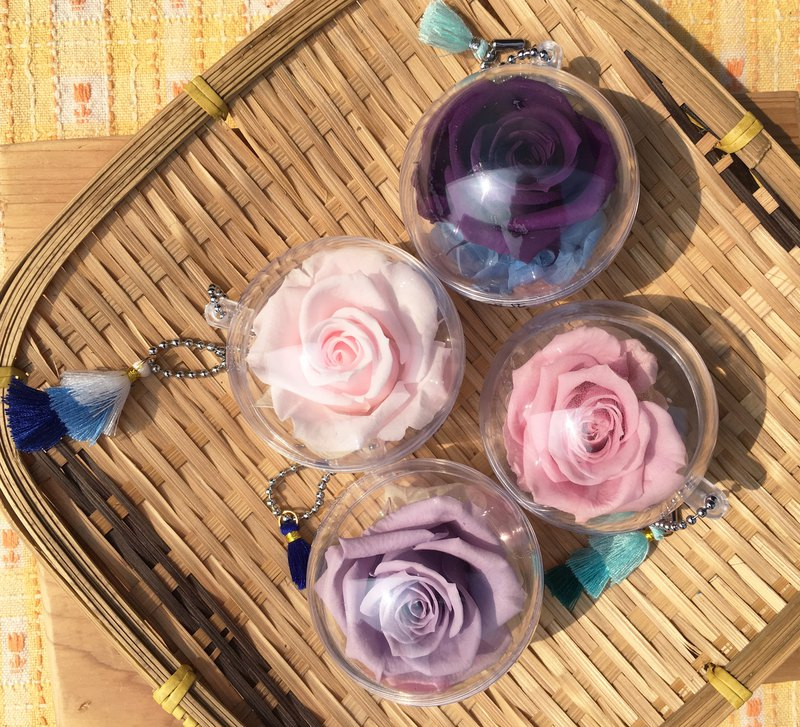 [The only you] dry flower charm / charm / dry flower / small gift / wedding small things / flower ball / eternal life