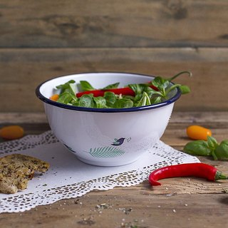 SUSS-Poland emalco spring series 珐琅 bowl / salad bowl / cooking bowl (large)
