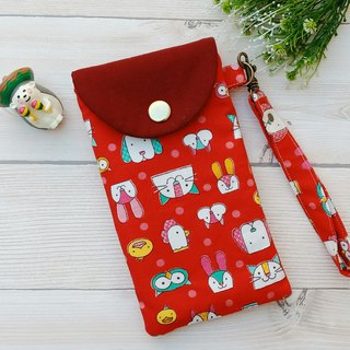 [glasses bag] shrapnel mouth gold - wreath bear