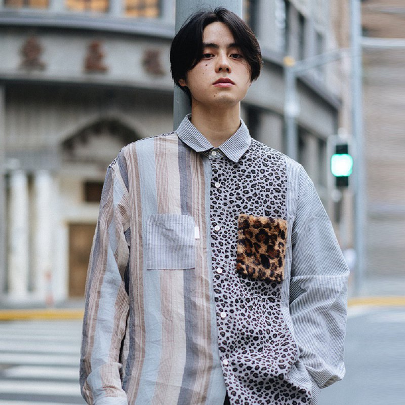 PROS BY CH leopard shirt