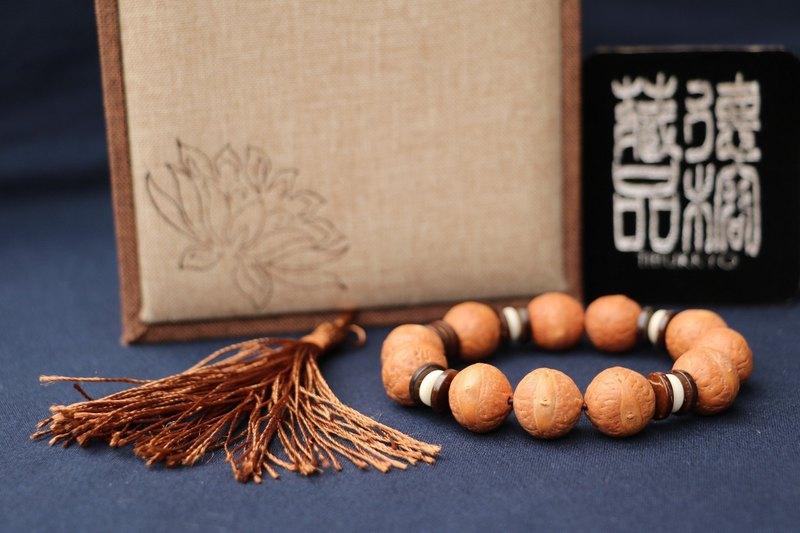 尼泊爾鳳眼菩提 14mm圓珠 手珠型 手環 串珠設計 菩提子 佛珠風水
