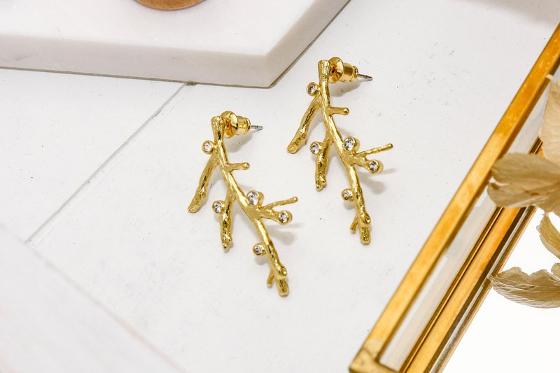 Sen. Tree earrings