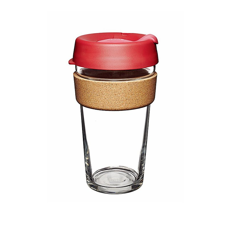 Australia KeepCup Cork Carry Cup/Coffee Cup/Environmental Mug/Takeaway Cup L-Passion