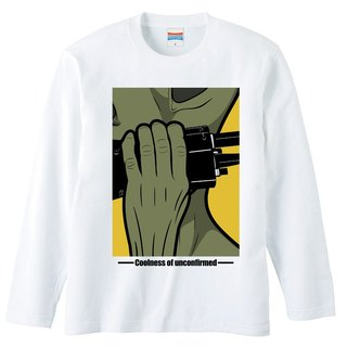 [Long sleeve T-shirt] Alien / transceiver