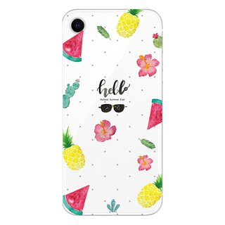 I love summer - mobile phone case / anti-drop / air pressure shell / customizable handwriting + plus words