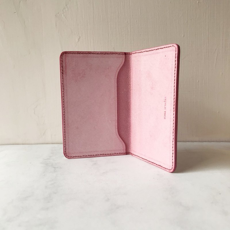 Credit Card Holder_Ultra-thin Miniature Edition_拉感樱花粉_Card holder