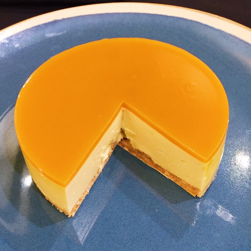 【Mizu Patisserie】 Summer sweet and sour mango cheese cake (four inches)