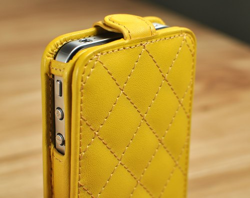 STORYLEATHER made (SAMSUNG series) Style D3 PDA-style underwear lozenge custom leather case