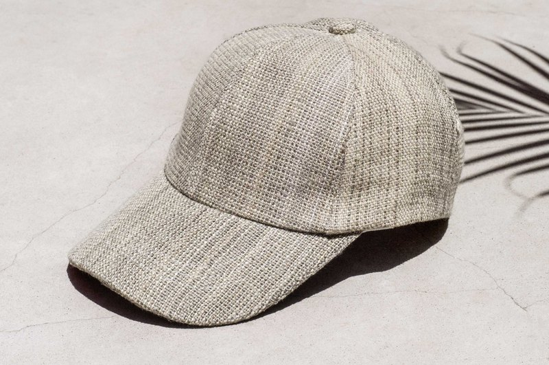 Cotton and wool hat cap knit hat fisherman hat visor hat handmade cap sports cap - desert oasis