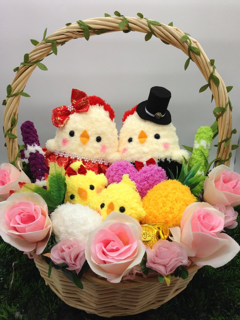 Spot - Lovely Woven Woven Bring Chicken Dolls Dolls Marriage Engagement Weddings Small Objects Wedding Supplies