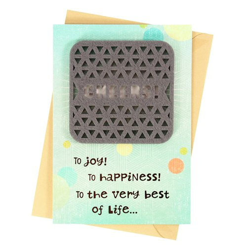 For the best and best life [Hallmark-Creative Handmade Card Birthday Blessing]