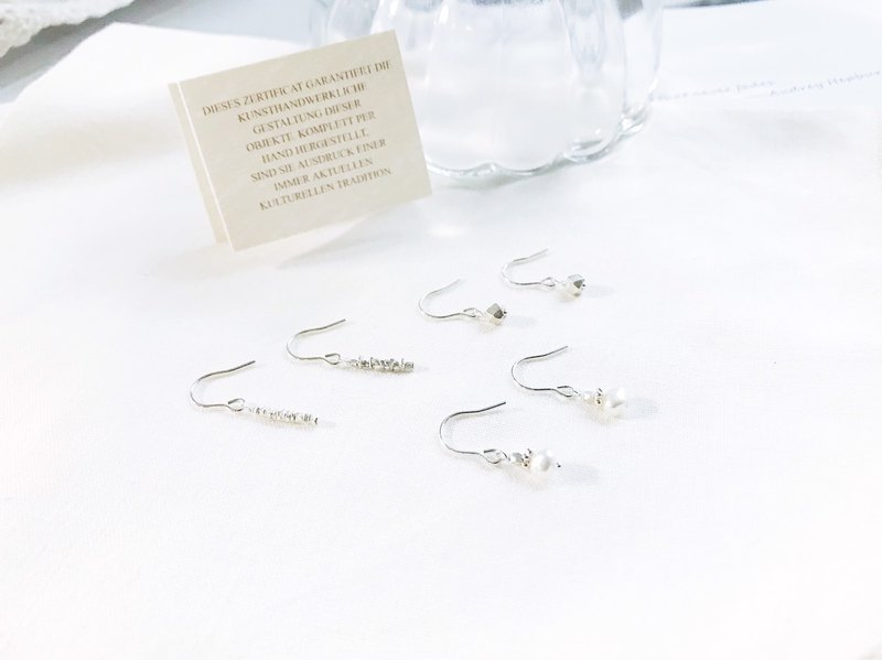 Goody Bag - Small Silver Earrings Combination