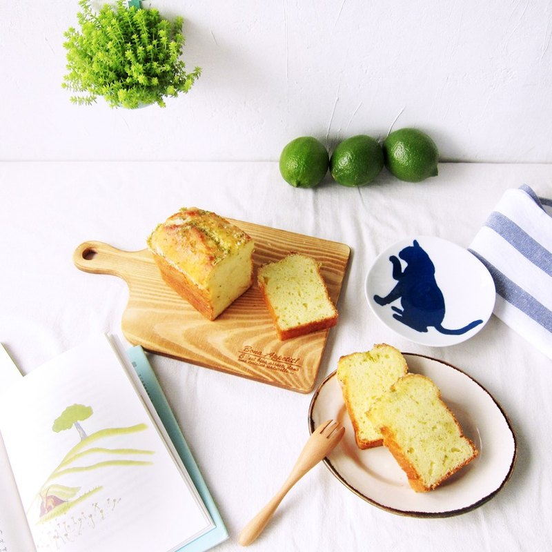 Lemon Frosted Pound Cake-8 Pieces (Box)-Only available on Taiwan Island