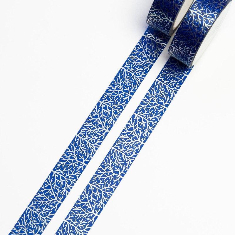 水晶樹銀挫敗天鷹磁帶15毫米×1千萬- 2藍和銀挫敗樹