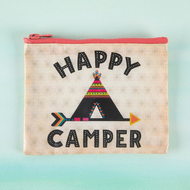 Eco-friendly material coin purse - Happy Camper