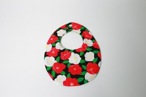 Pu.sozo - Cloth hand-made Japanese hand flower color + poker game double bib pocket / gauze towel / saliva towel / handkerchief / wipe towel / baby / baby
